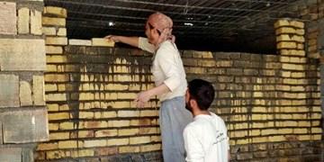 همت جهادگران سمنانی در ساخت منزل برای خانواده کمبرخوردار+ تصاویر
