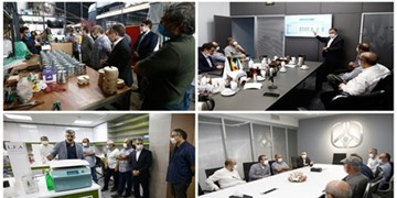 جمعی از کارگردانان سینمای ایران در تور علم و فناوری شرکت کردند
