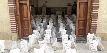 توزیع ۵۰۰ بسته غذایی بین خانوادههای آسیبدیده کرونا در مازندران