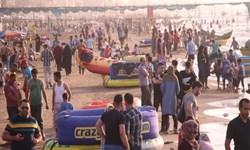 جولان کرونا در شلوغی سواحل مازندران +فیلم