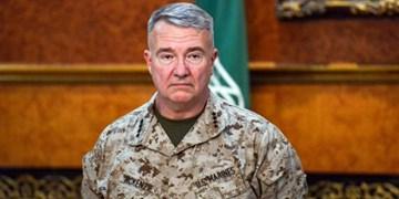 فرمانده سنتکام: ماندن آمریکا در عراق هرگز به افزایش تنش با ایران منجر نمیشود