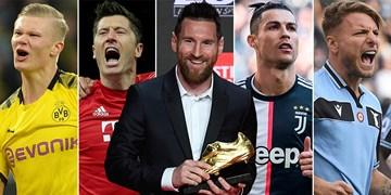 اگر پنالتی نبود برترین گلزنان اروپا چه کسانی بودند؟ / مسی و رونالدو در رده پنجم