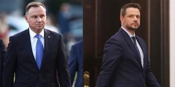 پیشتازی 8 دهم درصدی رئیس جمهوری فعلی لهستان در انتخابات ریاست جمهوری