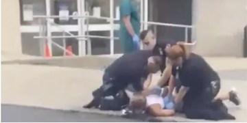 ویدئوی جنجالی جدید از خشونت پلیس آمریکا در پنسیلوانیا