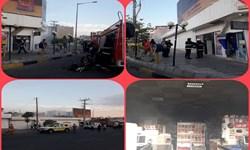 آتش به جان فروشگاه مواد غذایی در بیرجند افتاد/ خسارت جانی نداشتهایم
