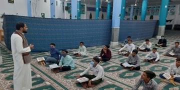 پیچیدن عطر قرآن در روزهای کرونایی در ریگان