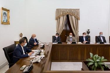 سخنرانی اسحاق جهانگیری معاون اول رییس جمهور در جلسه ستاد ملی هماهنگی و مدیریت تالاب های کشور
