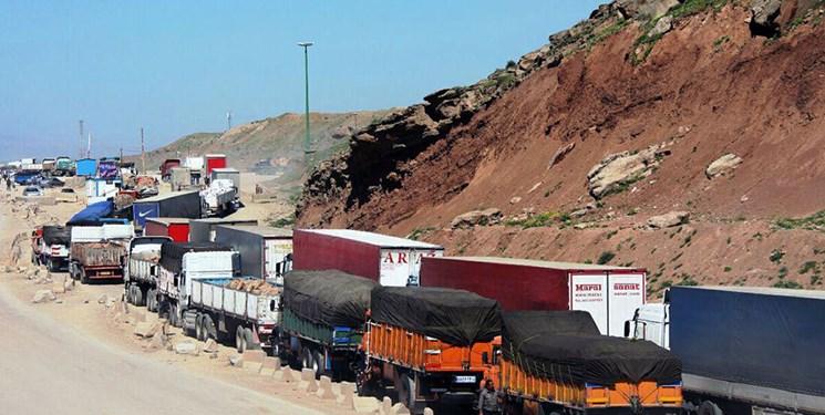 عبور هفتگی 500 کامیون از مرز ایران به عراق