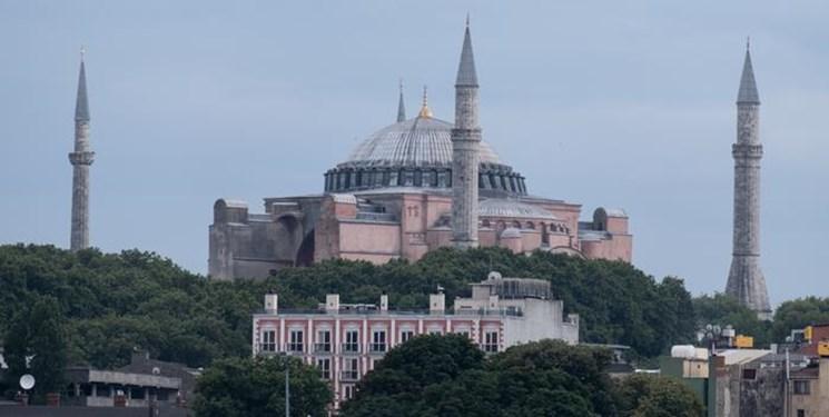 انتقاد اتحادیه اروپا از ترکیه به دلیل تبدیل «ایا صوفیه» به مسجد