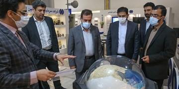 بازدید نمایندگان مجلس از نمایشگاه دستاوردهای شستا