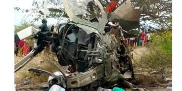 «بالگرد آمریکایی» ارتش  کنیا به دلایل نامعلوم سقوط کرد