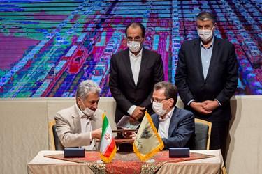 رد و بدل تفاهمنامه میان راهآهن جمهوری اسلامی ایران و شرکت هلدینگ تایدواترخاورمیانه