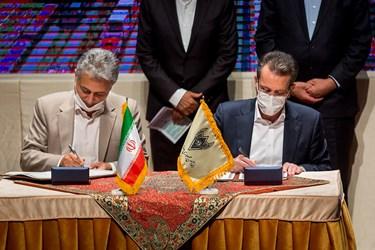 امضای تفاهمنامه میان راهآهن جمهوری اسلامی ایران و شرکت هلدینگ تایدواترخاورمیانه