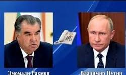 کرونا و همکاری دوجانبه محور گفتوگوی رؤسای جمهور تاجیکستان و روسیه