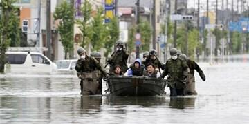 سیل ژاپن | تلفات به 72 نفر رسید، 13 نفر مفقود شدهاند