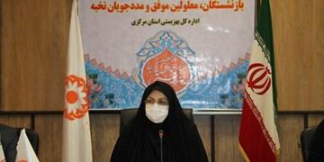 معلولین نخبه استان مرکزی تجلیل شدند