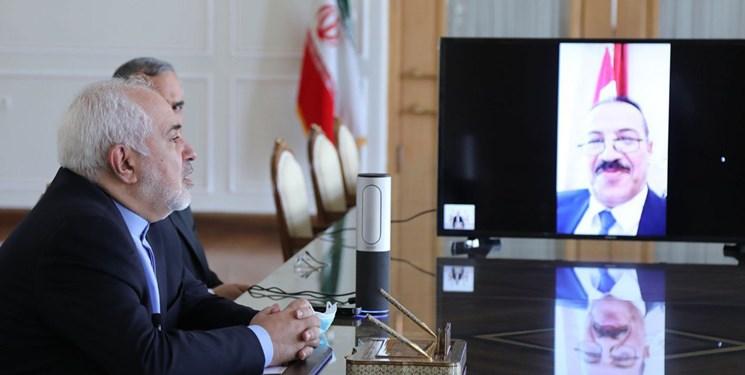 گفتوگوی ظریف با وزیر خارجه دولت نجات ملی یمن