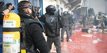 سرکوب زندانیان فلسطینی در زندان «عوفر»