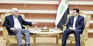 «قاسم الاعرجی» رسما پست مشاور امنیت ملی عراق را تحویل گرفت+تصاویر
