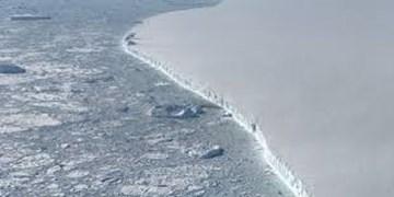 جابجایی هزار کیلومتری یک کوه یخ تنها در سه سال