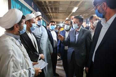 گفت و گوی سید پرویز فتاح رئیس بنیاد مستضعفان با مبلغان دینی زندان بزرگ تهران