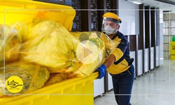 سرخط فارس| زبالههای کرونایی