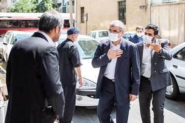 ورود علی نیکزاد نائب رئیس مجلس به خبرگزاری فارس