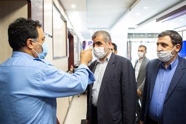تب سنجی علی نیکزاد نائب رئیس مجلس در خبرگزاری فارس