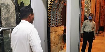 حرم امام حسین(ع) هم به دستگاه حرارتی کنترل سلامت زوار تجهیز شد +عکس