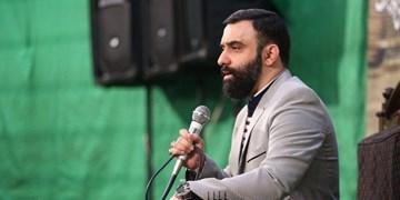 مراسم سیاهپوشان تکیه شاهزاده علی اکبر با نوای جواد مقدم