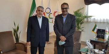 دیدار ناظمی با رئیس و دبیر کل کمیته ملی المپیک/ صالحیامیری: تحولات خوبی را شاهد هستیم