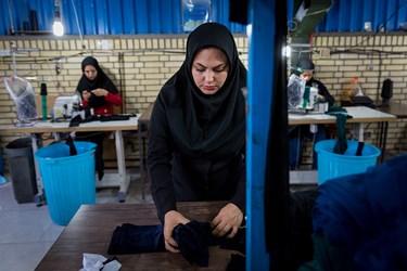 کارگاه تولید کننده ملزومات حجاب