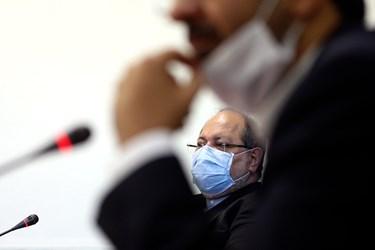 نشست خبری محمد شریعتمداری وزیر تعاون، کار و رفاه اجتماعی در آستانه هفته تامین اجتماعی و بهزیستی