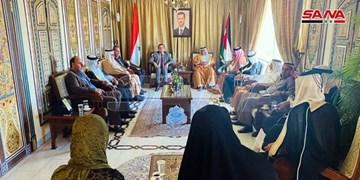 حمایت عشایر اردن از سوریه در برابر تحریمهای آمریکا