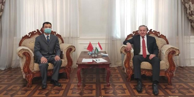 دیدار وزیر خارجه تاجیکستان با سفرای چین، هند، عربستان سعودی و اوکراین
