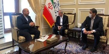 در دیدار استاندار با رئیس مجلس چه گذشت/ دعوت از قالیباف برای سفر به آذربایجانشرقی