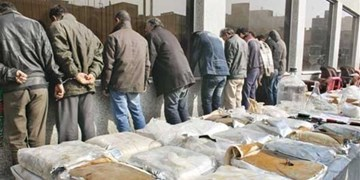 دستگیری 21 توزیع کننده مواد مخدر در خدابنده