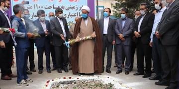 کلنگ مدرسه خیرساز شهید شفیعی در قرچک به زمین زده شد