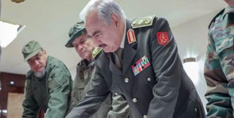 دیدار حفتر با هیأت آمریکایی و بررسی آتشبس در لیبی