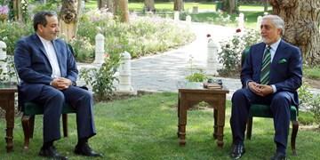 عراقچی با عبدالله عبدالله دیدار و گفت و گو کرد