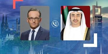 گفتوگوی تلفنی وزرای خارجه امارات و آلمان درباره تحولات منطقه