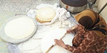 پخت نان تیری فیروزآبادیها در روزهای کرونایی