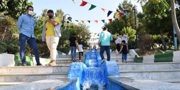 بهره برداری از پارک 5 هکتاری محمدشهر/3 پروژه عمرانی کلنگ زنی شد