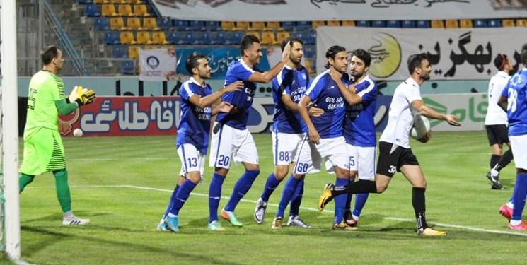 هفته بیستوپنجم لیگ برتر فوتبال| پیروزی گلگهر در جدال قعرنشینها