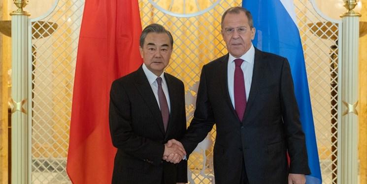 تاکید پکن-مسکو بر مقابله با آمریکا| وانگ یی: واشنگتن عقل، وجدان و اعتبارش را از دست داده است