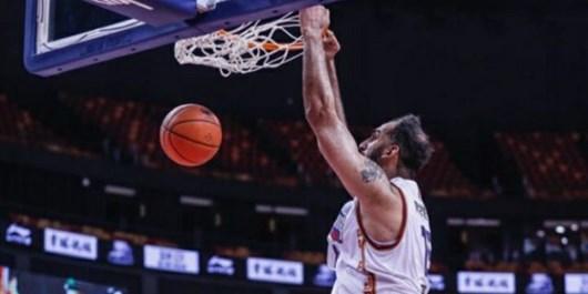 حدادی در تیم منتخب بسکتبال آسیا از نگاه بازیکن استرالیایی+عکس