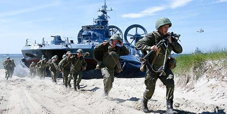 برگزاری رزمایش 150 هزار نفری ارتش روسیه در دریای خزر و سیاه