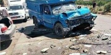 ۳ کشته و ۲ مجروح در تصادف نیسان با پراید در جاده پلدختر_درهشهر