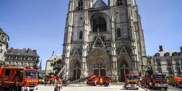 دستگیری یک مظنون در حادثه آتشسوزی شهر «نانت» فرانسه