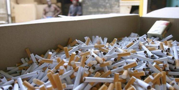 کشف 2940 نخ سیگار قاچاق در شهرستان سامان